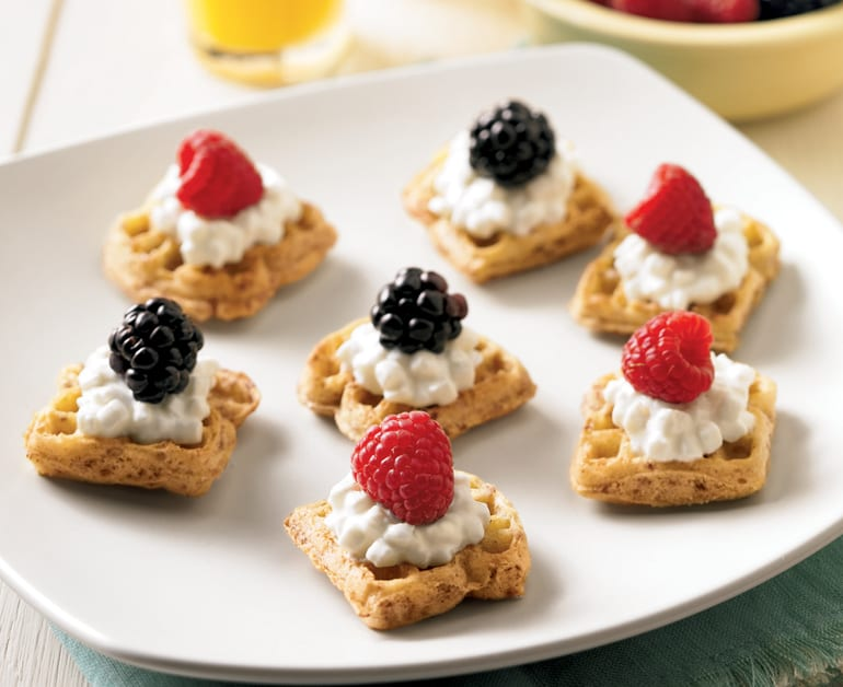 View recommended Waffle Fruit Snacks recipe