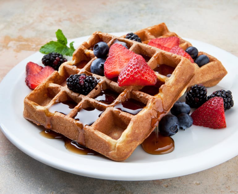 Light Waffles slider image 1