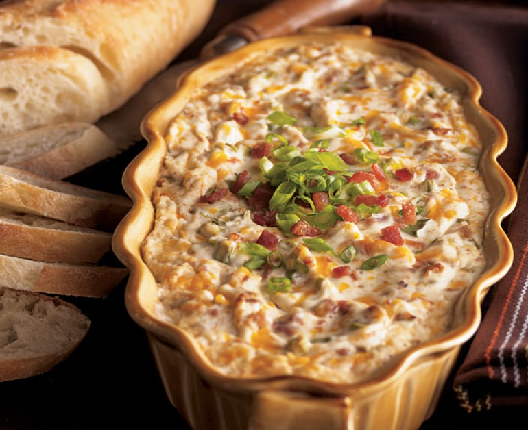 Warm and Creamy Bacon Dip slider image
