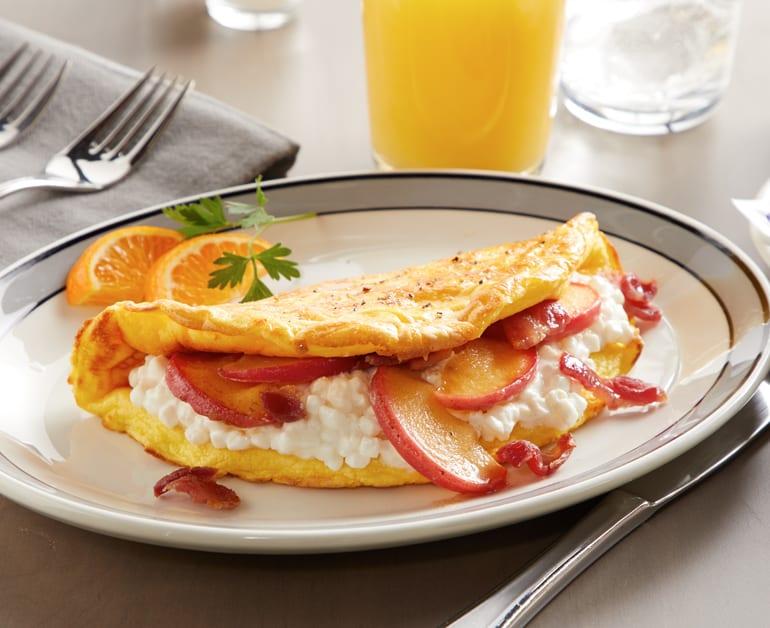 Apple Bacon Cheese Omelette slider image 1