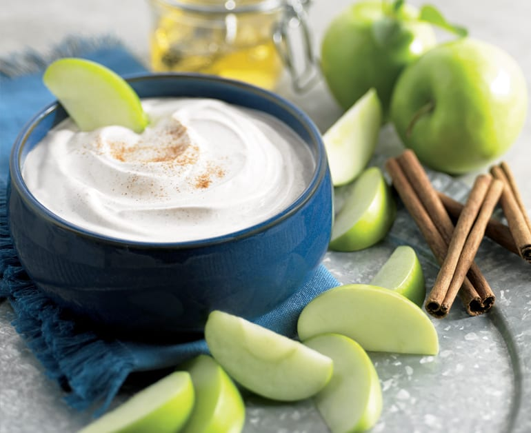 Apple Cinnamon Sour Cream Dip slider image