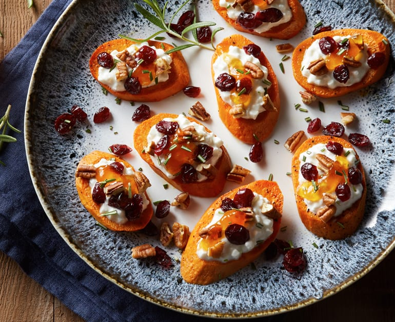 View recommended Apricot Rosemary Sweet Potatoes recipe