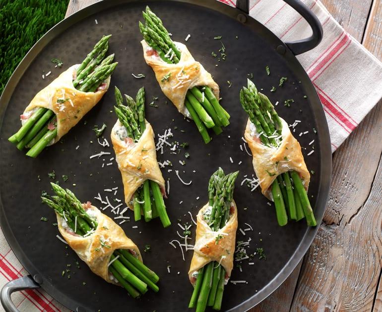 Asparagus-Prosciutto Bundles slider image 1