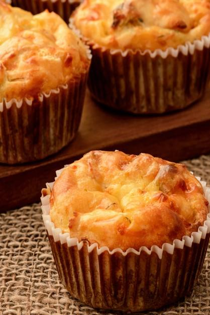 bacon sage muffin
