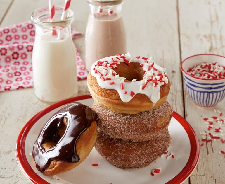 View recommended Baked Sour Cream Doughnuts recipe