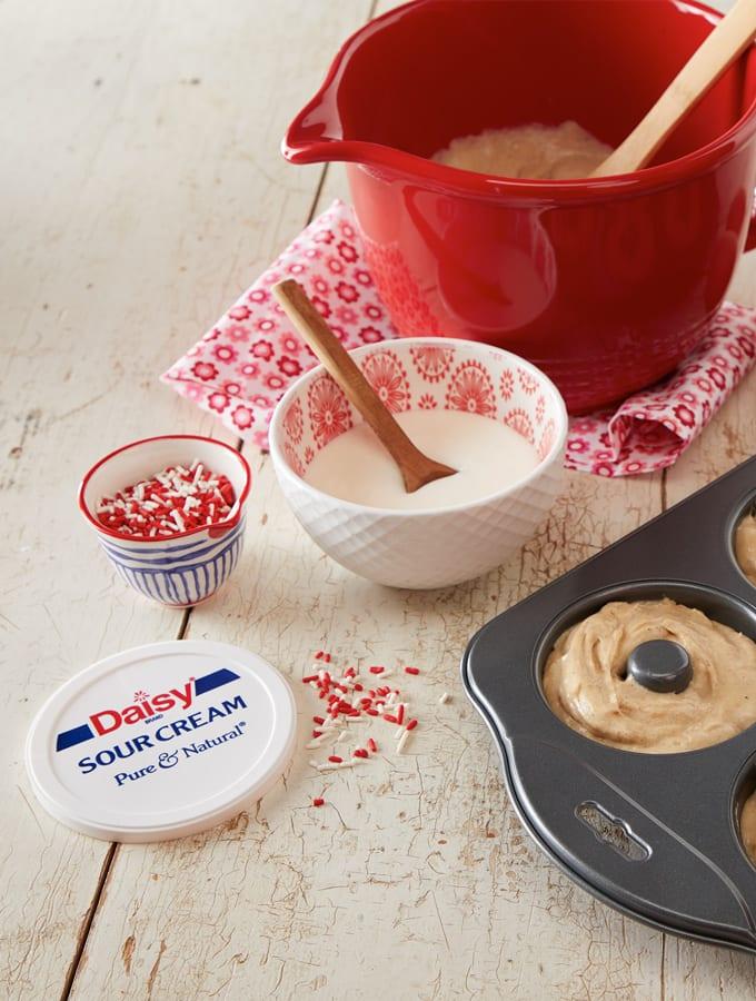 Baked Sour Cream Doughnuts slider image 2