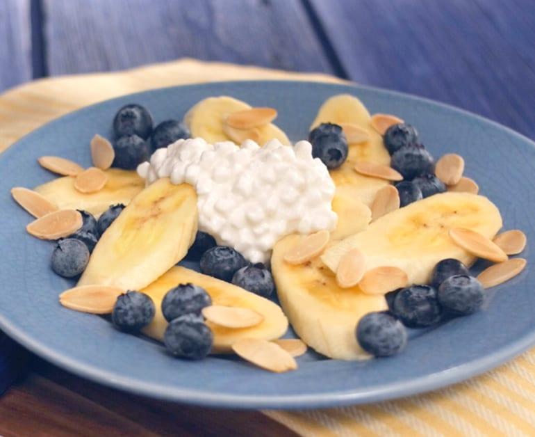 Banana Blueberry Sundae slider image