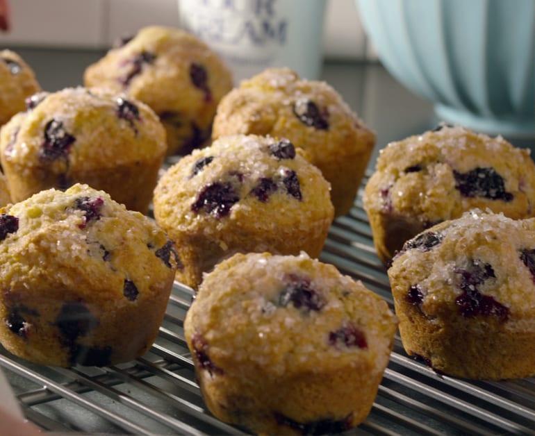 Thumbnail image for Panquecitos de Blueberries