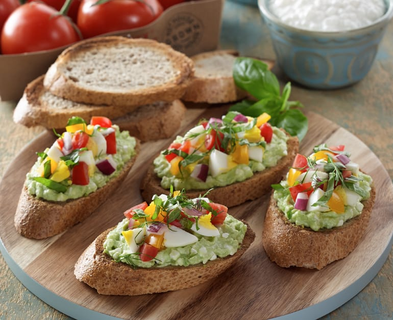 View recommended Breakfast Crostini recipe