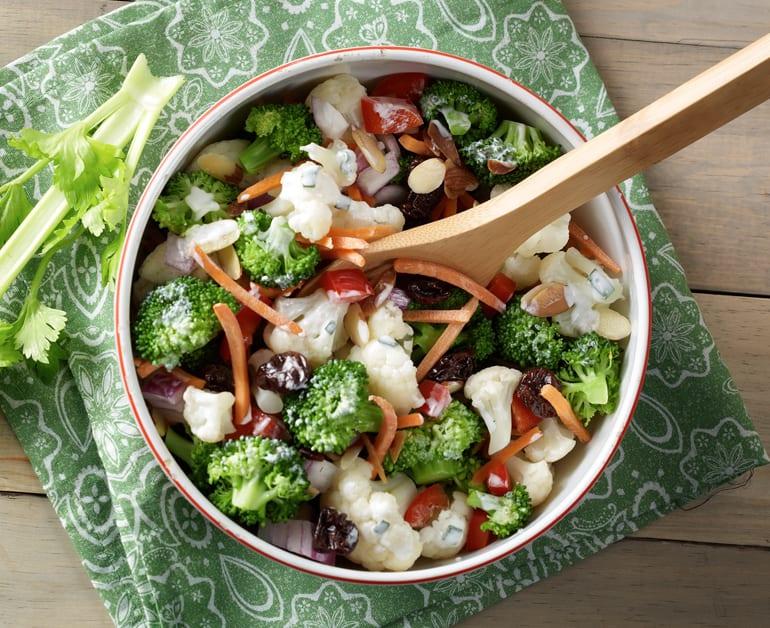 Broccoli-Cauliflower Salad slider image 1