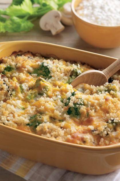 Guiso de arroz y brocoli