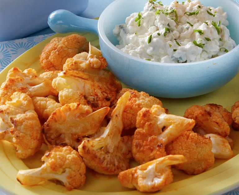 Click to open Buffalo Roasted Cauliflower recipe