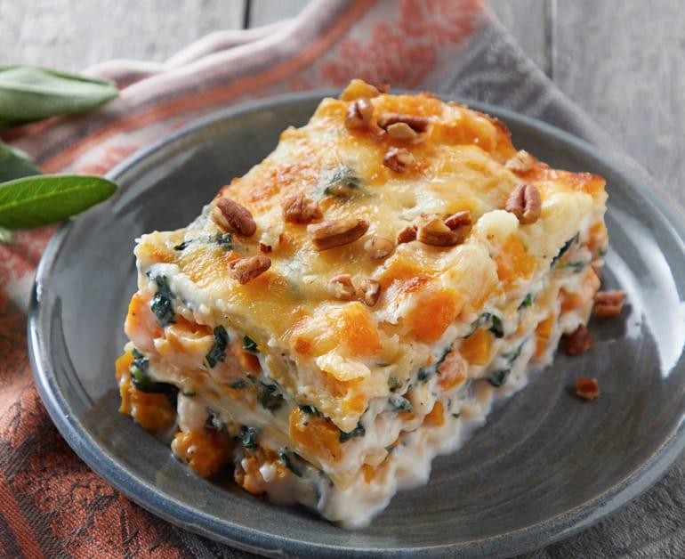 Click to open Cheesy Butternut Squash Lasagna recipe