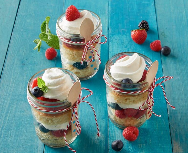 Lemon Berry Cake Jars slider image