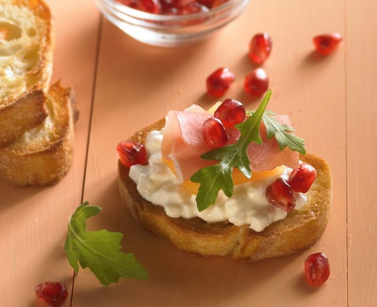 Cantaloupe Crostini slider image 1