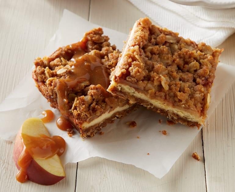 Caramel Apple Crisp Bars slider image 1