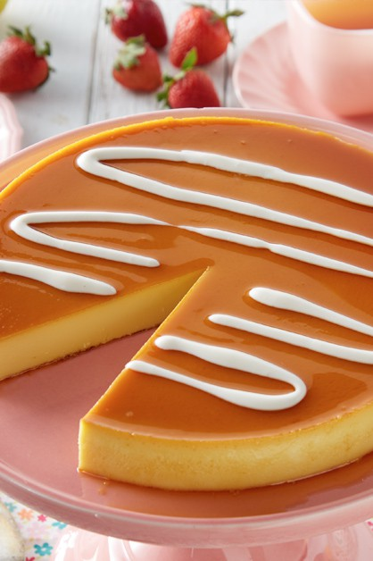 Caramel Flan Recipe With Sour Cream Daisy Brand
