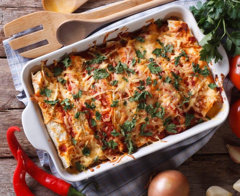 Chicken and Cheese Enchiladas slider image 1