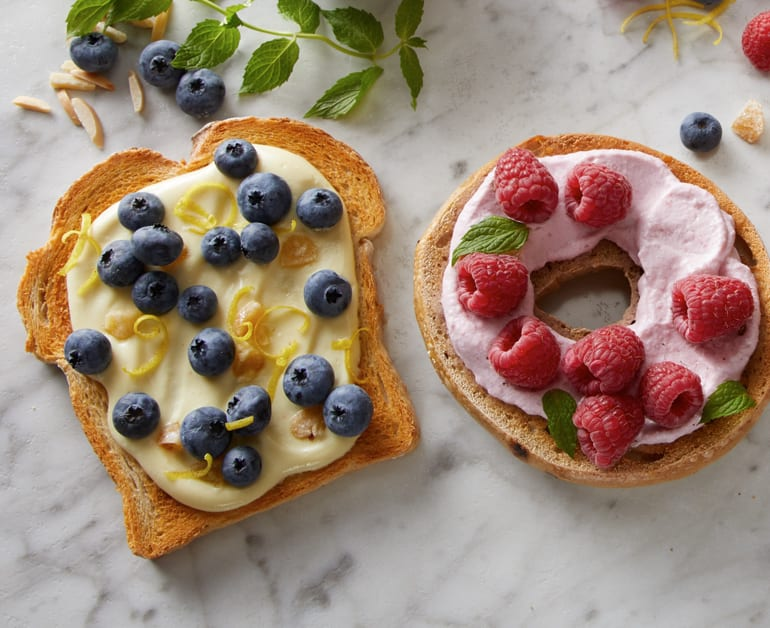 View recommended Cheesy Fruit Spread recipe