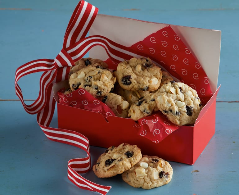View recommended Cherry and White Chocolate Cookies recipe