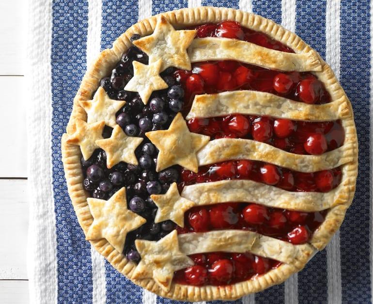 Cherry and Blueberry Pie slider image