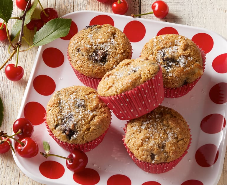 Cherry Nut Muffins slider image 1