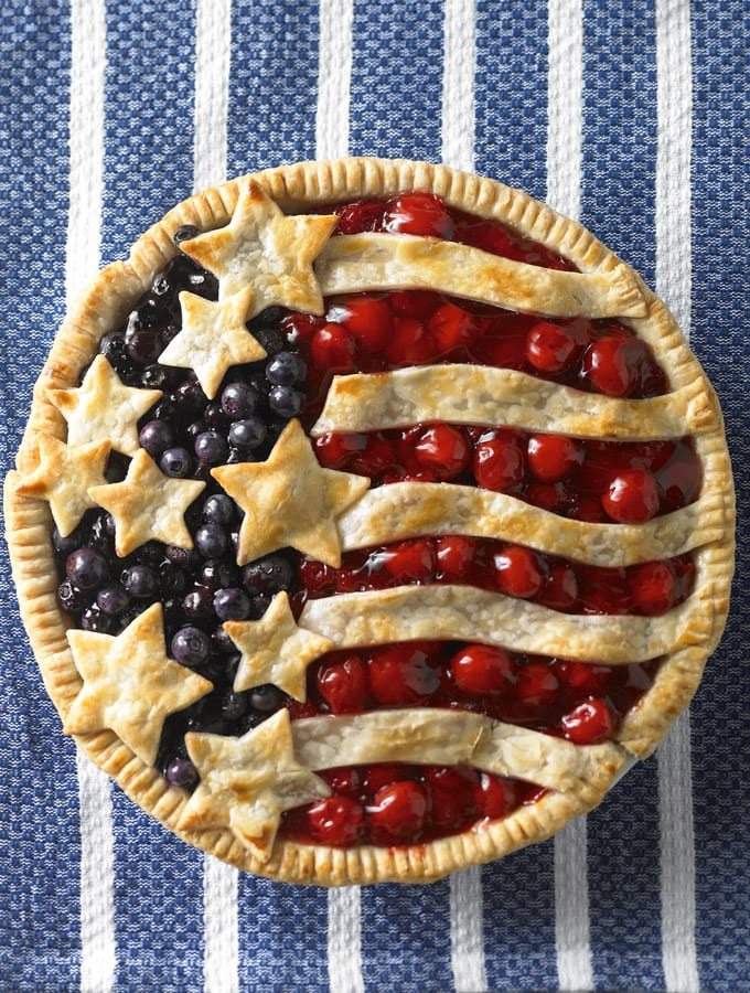 Cherry and Blueberry Pie slider image 2