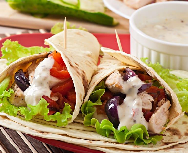 Chicken Wrap slider image 1