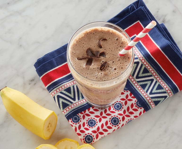 Click to open Chocolate Peanut Butter Banana Smoothie recipe