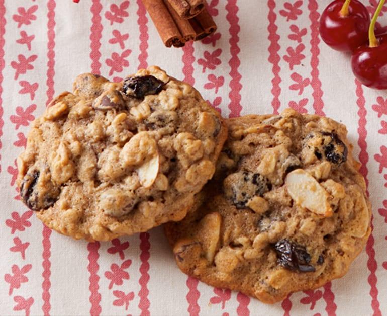 Chocolate Cherry Oatmeal Cookies slider image 1
