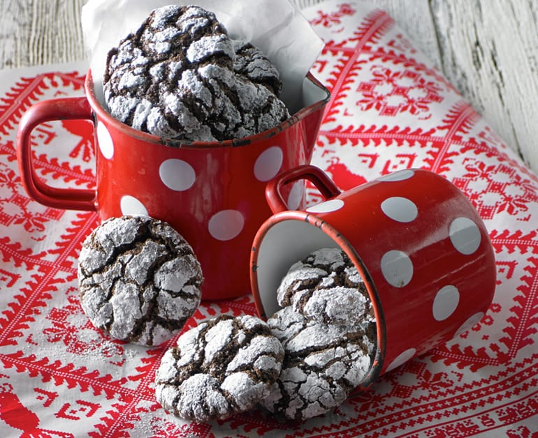 View recommended Chocolate Crinkle Cookies recipe