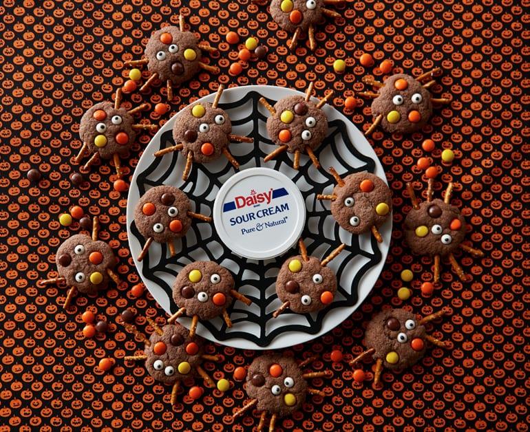 Chocolate Spider Cookies slider image 1
