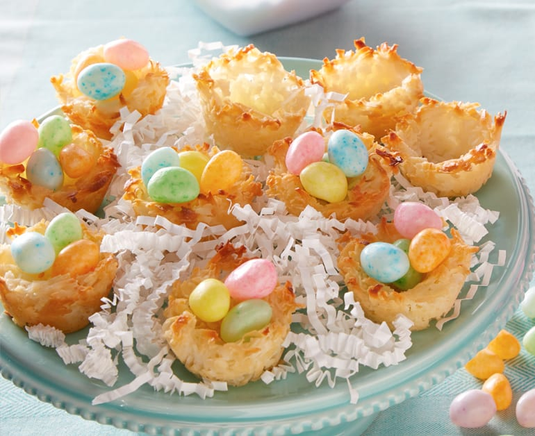 View recommended Coconut Macaroon Nest Cookies recipe