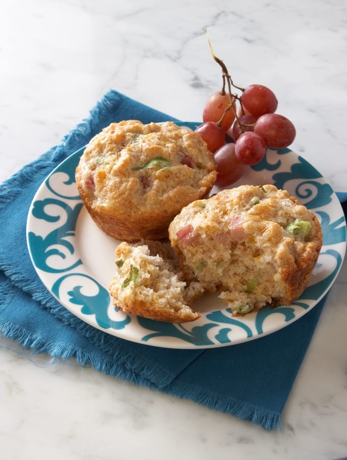 Cottage Cheese, Egg, and Ham Muffins slider image 2