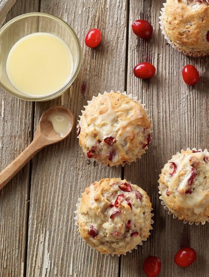 Cranberry Orange Muffins slider image 2