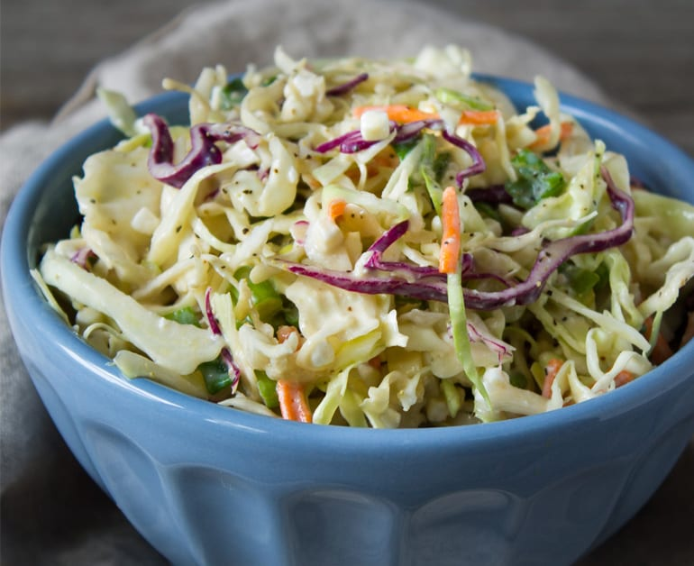 View recommended Creamy Cottage Cheese Coleslaw recipe