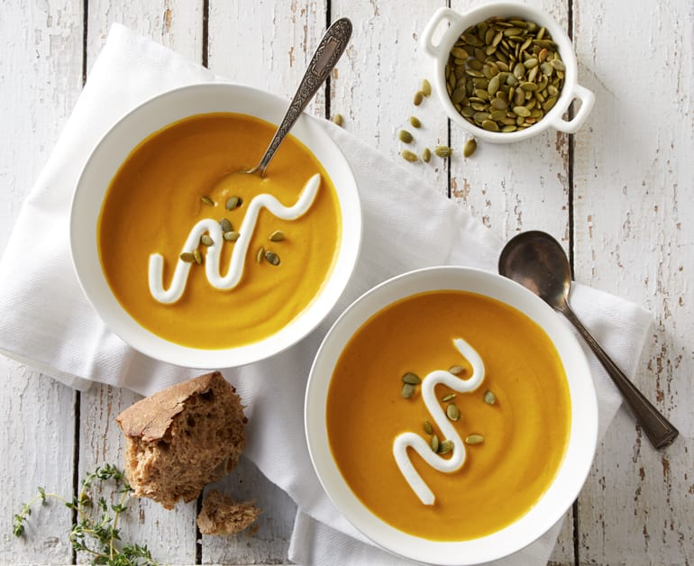 Click to open Creamy Pumpkin Soup recipe