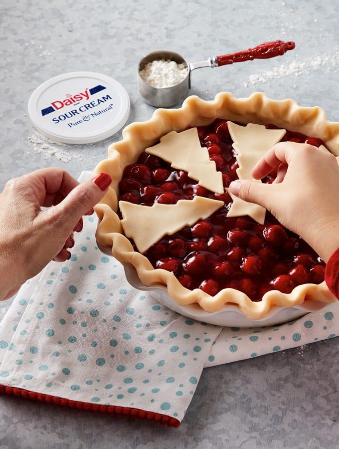 Creamy Cherry Pie slider image 2