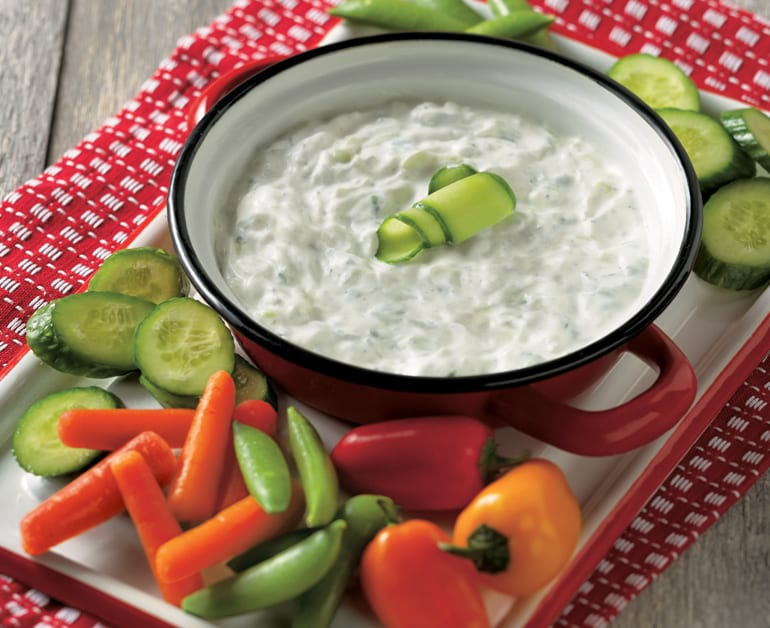 View recommended Cucumber Ranch Dip recipe