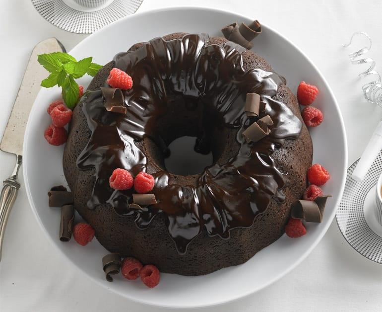 Double Chocolate Chip Bundt Cake slider image