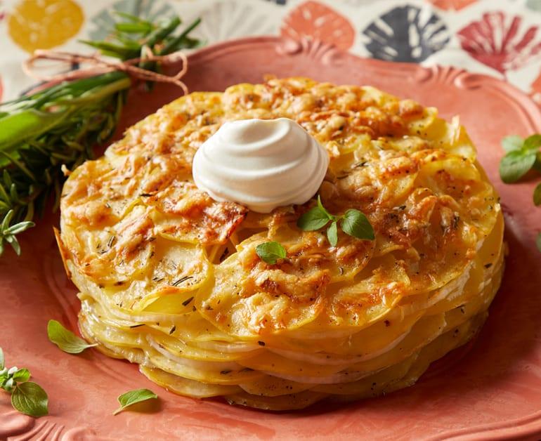 Click to open Easy Potato Scallop Bake recipe