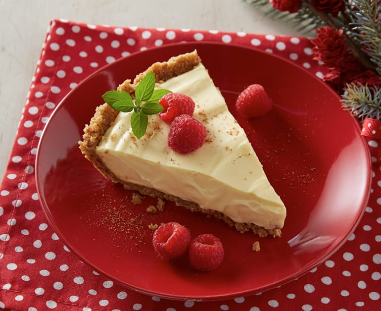 No Bake Eggnog Pie slider image 1
