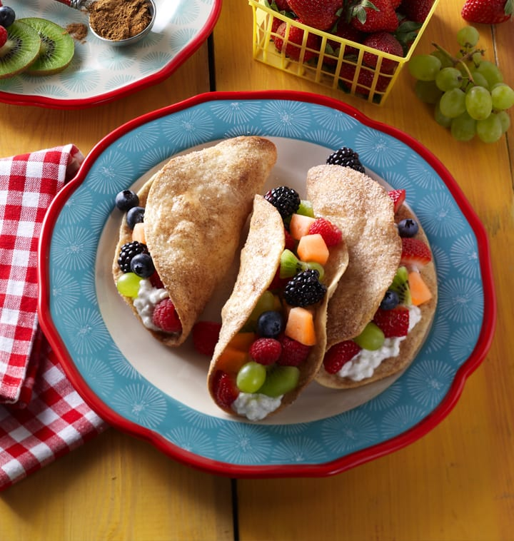 Fruit Taco Cottage Cheese Recipe image