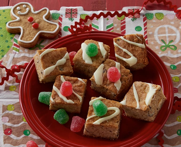 Gingersnap Blondies