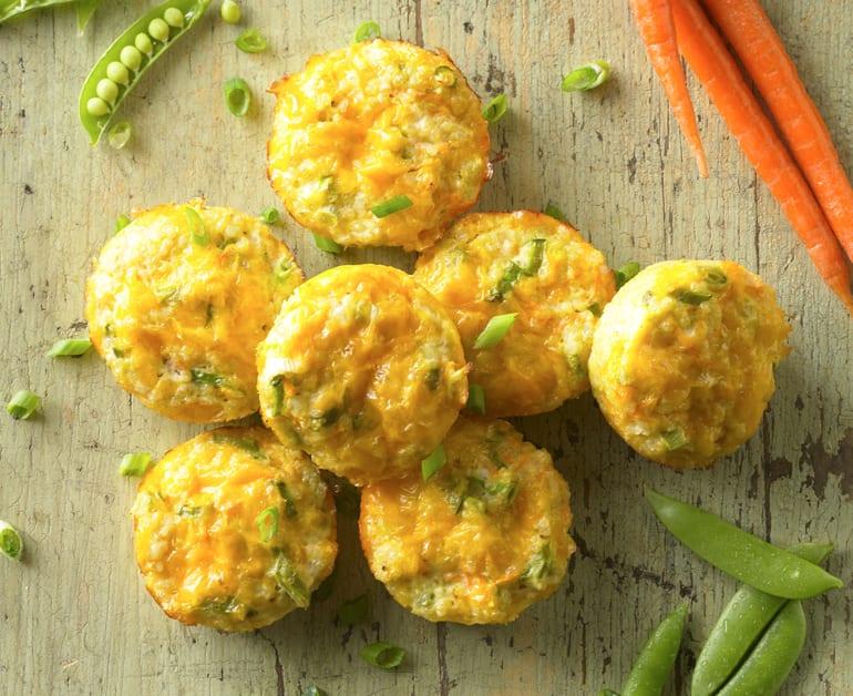 View recommended Golden Veggie Quinoa Bites recipe