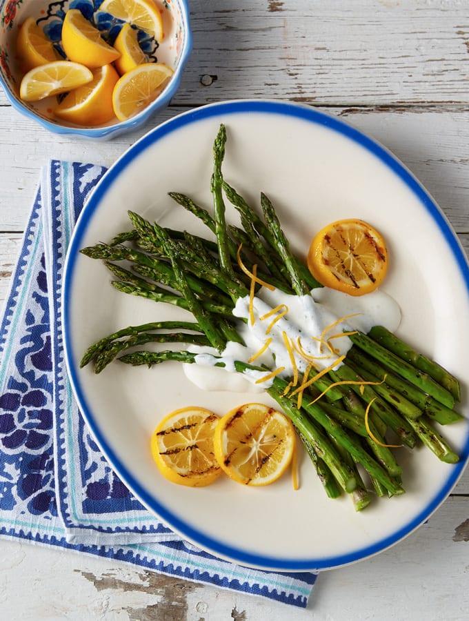 Grilled Asparagus with Light Lemon Sauce slider image 2