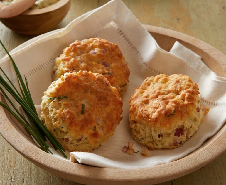 ham and gouda biscuits