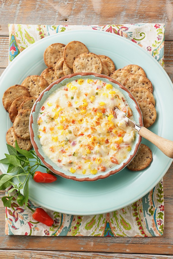 Jalapeno Crab Dip Game Day