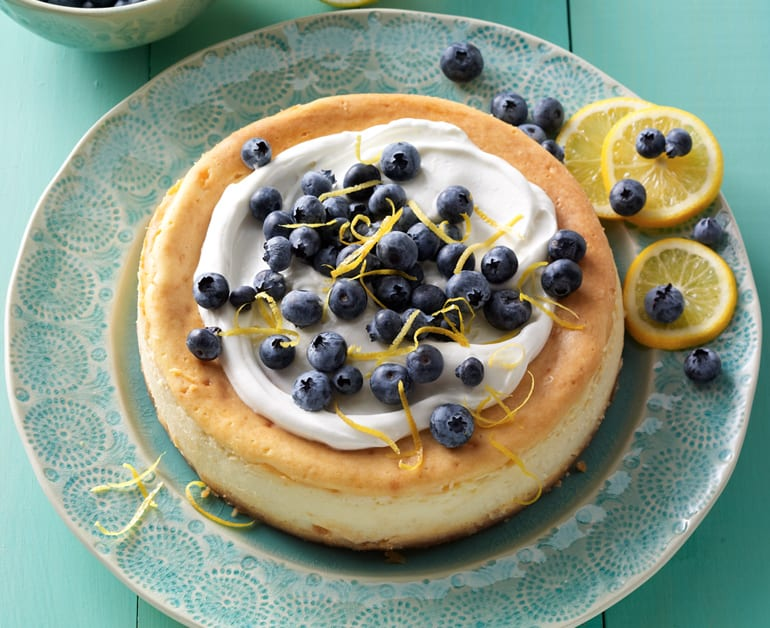 View recommended Lemon Blueberry Cheesecake recipe