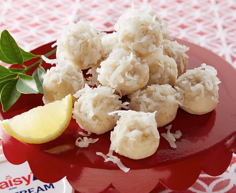 View recommended Lemon Coconut Snowballs recipe